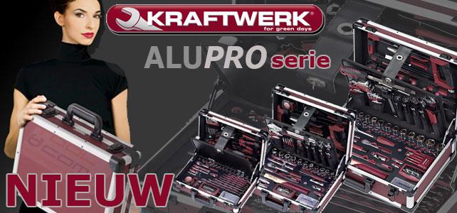 Alleen bij Gereedschapland.nl AluPro serie van Kraftwerk