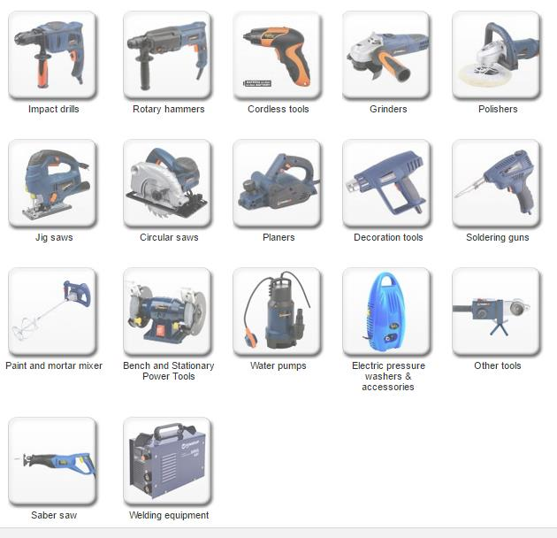 Power Up electrische gereedschappen