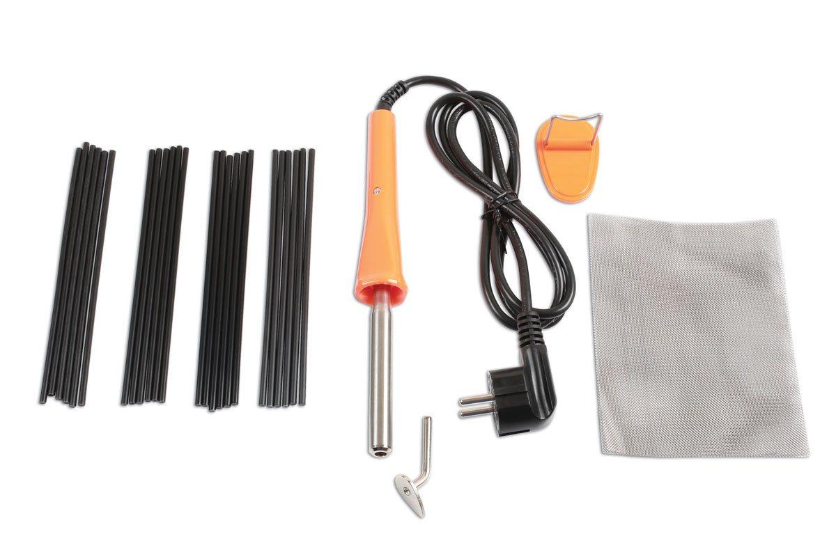 powertec 92480 kunststof reparatie set plastic nieter. Black Bedroom Furniture Sets. Home Design Ideas