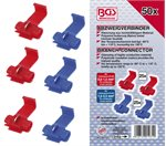 Assortiment kabelverbinder scotch lock, 50 delig