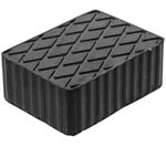 Rubberen pad   hefplatforms  160 x 120 x 60 mm