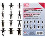 Assortiment, bekledings clips Sortiment voor Mazda, Honda, Ford, Nissan & VW, 240-delig